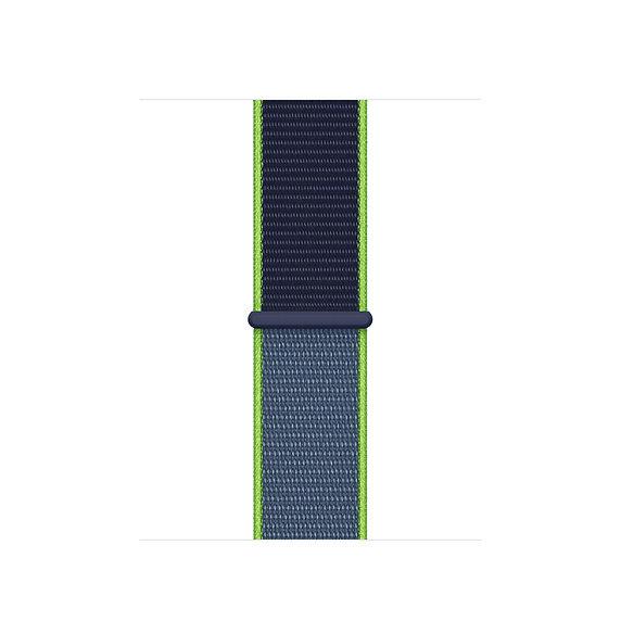 Спортивный браслет Apple Watch neon lime