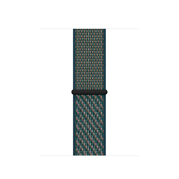 Спортивный браслет Apple Watch Nike hyper crimson/neptune green