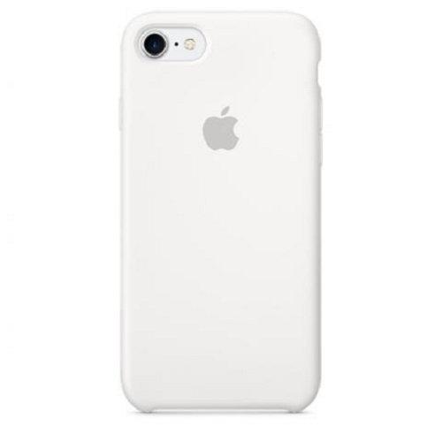 Чехол-наладка на iPhone Silicone Case white