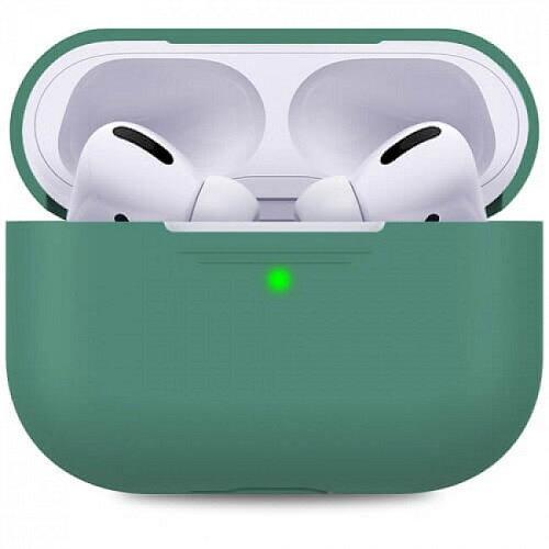 Чехол для наушников Apple AirPods Pro Silicone Case midnight green