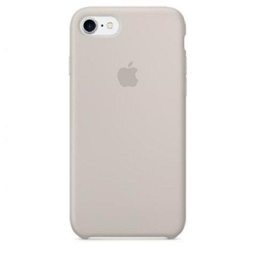 Чехол-наладка на iPhone Silicone Case stone