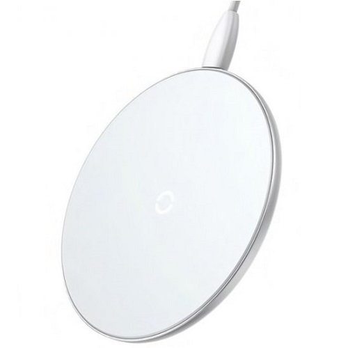 Беспроводное зарядное устройство Baseus Simple Wireless Charger white