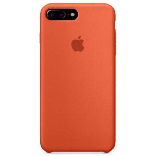 Чехол-наладка на iPhone Silicone Case orange