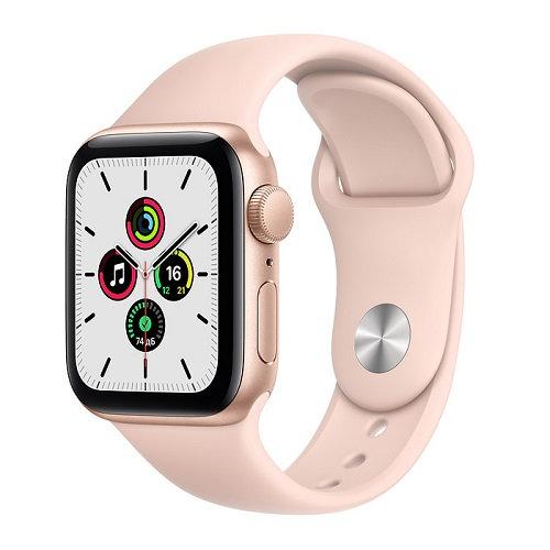 Apple Watch SE Gold (розовый ремешок)