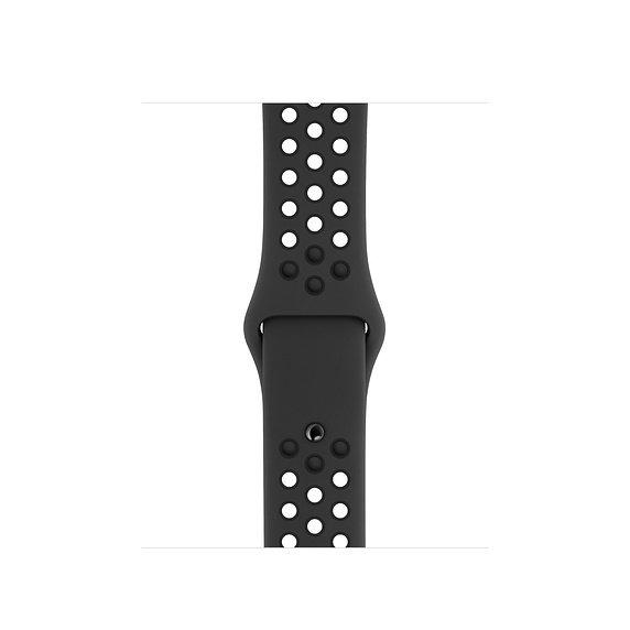 Спортивный ремешок Apple Watch Nike anthracite/black
