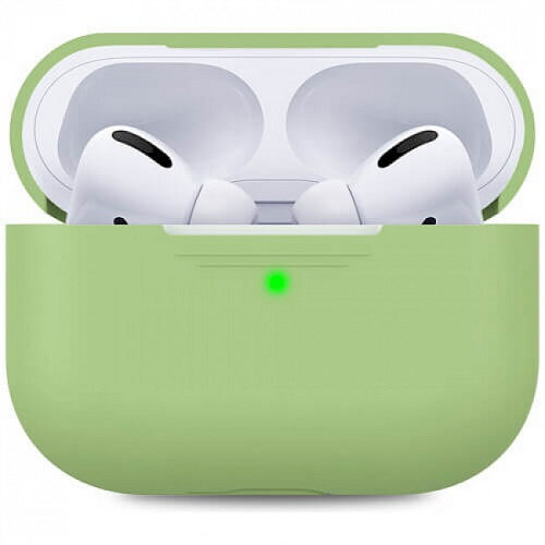 Чехол для наушников Apple AirPods Pro Silicone Case green