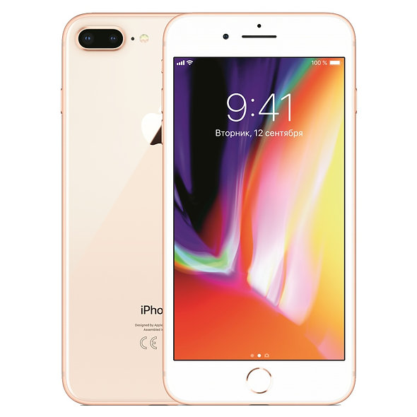 iPhone 8 Plus б/у 64Gb gold