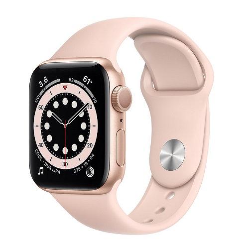 Apple Watch Series 6 Gold (розовый ремешок)