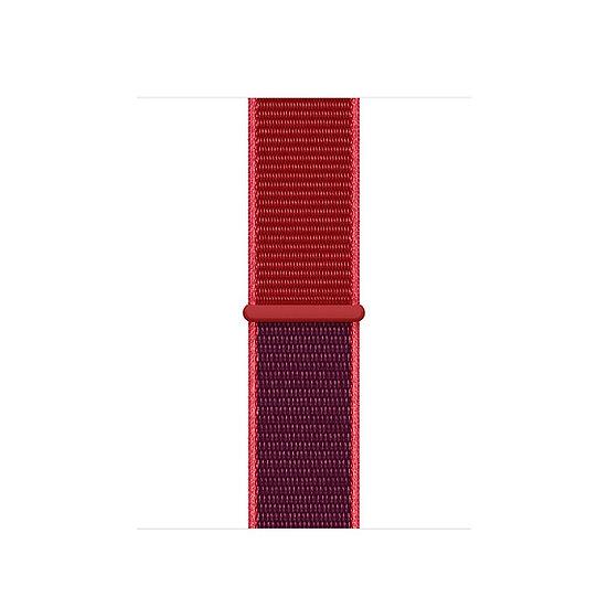 Спортивный браслет Apple Watch red