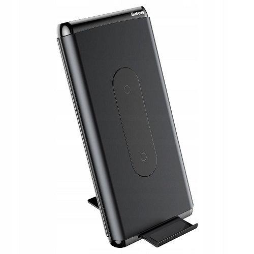 Беспроводной внешний аккумулятор Baseus Dual Coil QC3 10000mAh black