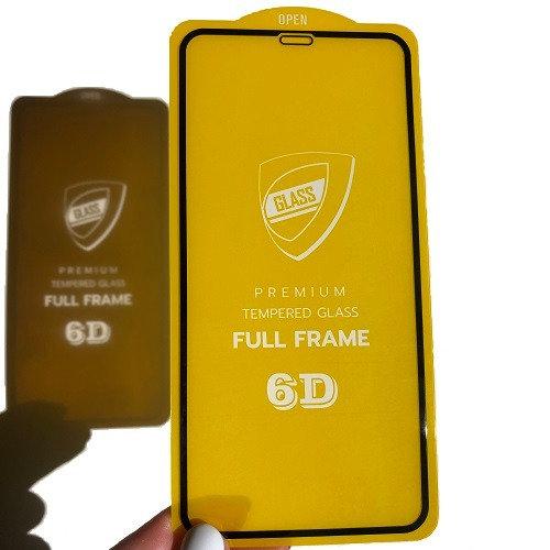 Защитное стекло Glass 6D на iPhone X/XS(Max)/XR/11/11Pro(Max)/12/mini/12Pro(Max)