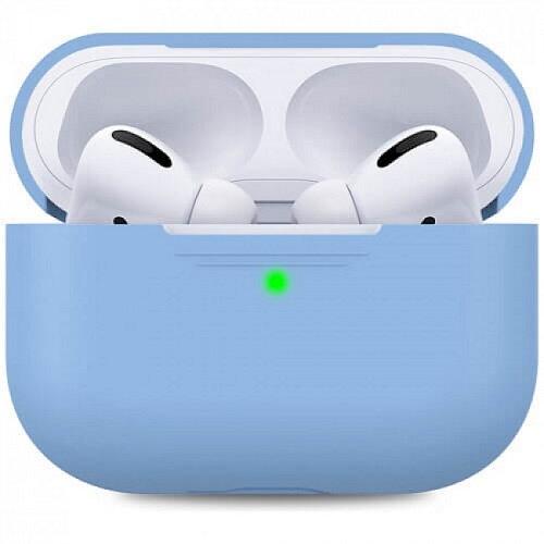 Чехол для наушников Apple AirPods Pro Silicone Case sky blue