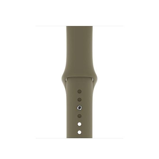 Спортивный ремешок Apple Watch khaki