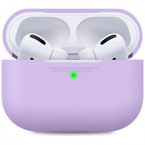 Чехол для наушников Apple AirPods Pro Silicone Case lavender