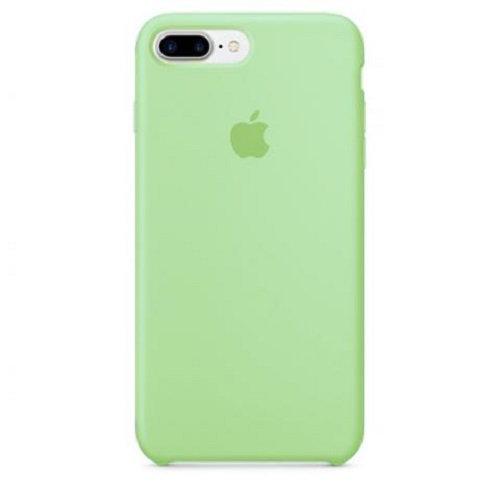 Чехол-наладка на iPhone Silicone Case green