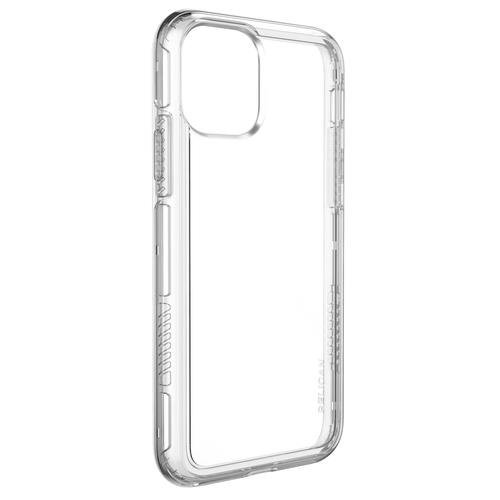 Прозрачный чехол-наладка на iPhone
