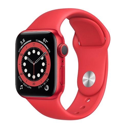 Apple Watch Series 6 Red (красный ремешок)