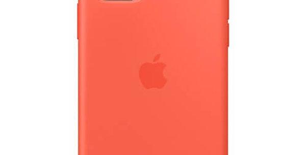 Чехол-наладка на iPhone Silicone Case clementine orange