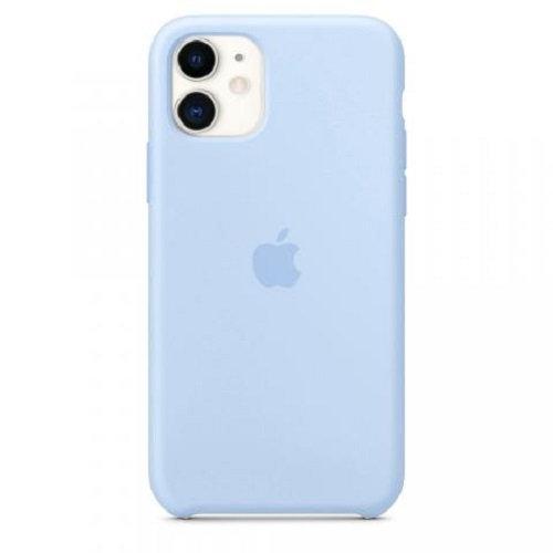 Чехол-наладка на iPhone Silicone Case lilac