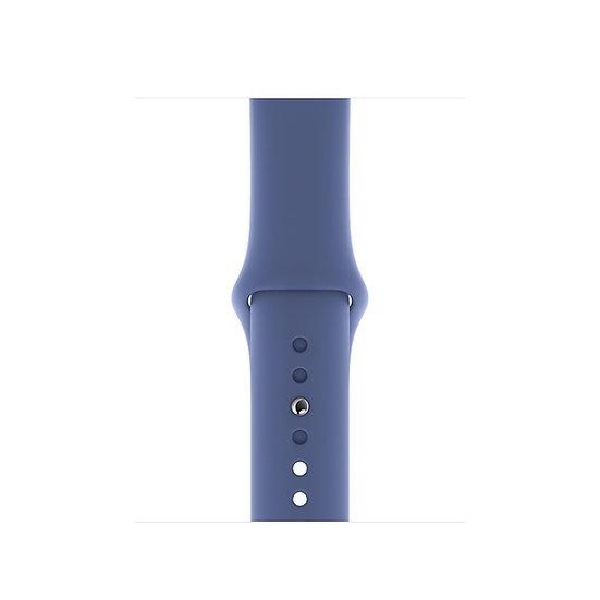 Спортивный ремешок Apple Watch linen blue