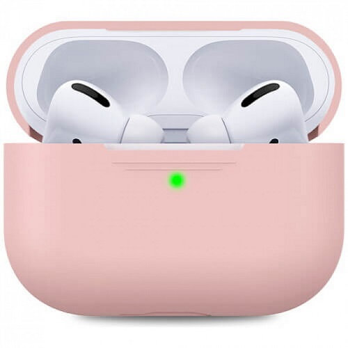 Чехол для наушников Apple AirPods Pro Silicone Case pink