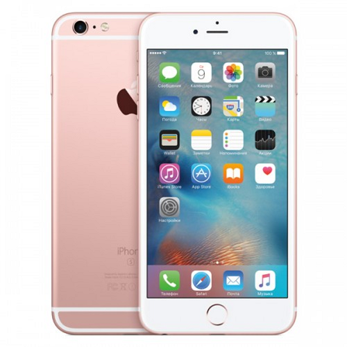 iPhone 6s Plus б/у 16Gb rose gold