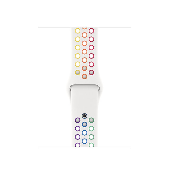 Спортивный ремешок Apple Watch Nike pride
