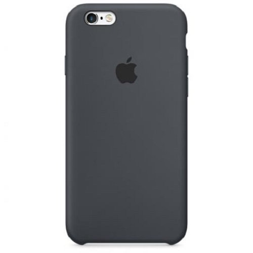 Чехол-наладка на iPhone Silicone Case gray