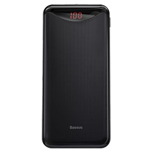 Внешний аккумулятор Baseus Gentleman Digital Display 10000mAh black