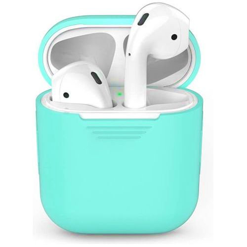 Чехол для наушников Apple AirPods Silicone Case green