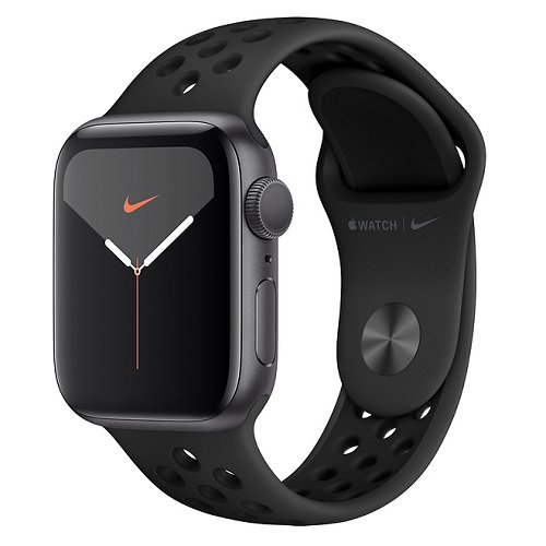 Apple Watch Series 5 Nike space gray (спортивный ремешок Nike)
