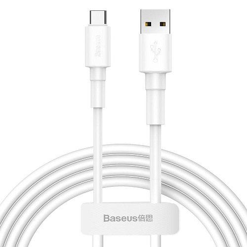 Кабель Baseus Mini White Cable USB - Type-C 3A 100см