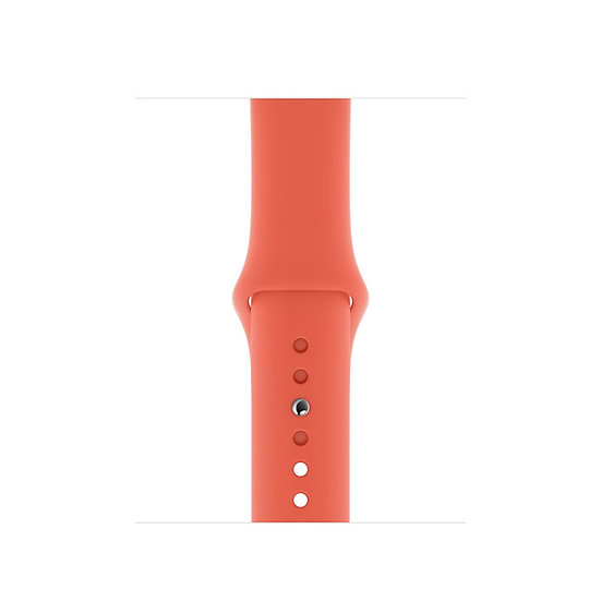 Спортивный ремешок Apple Watch clementine