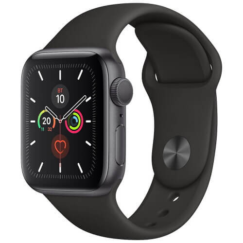 Часы Apple Watch Series 5 Space Gray 40(38)mm (черный ремешок)