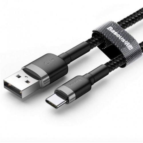 Кабель Baseus Cafule Cable USB - Type-C 2A 200см