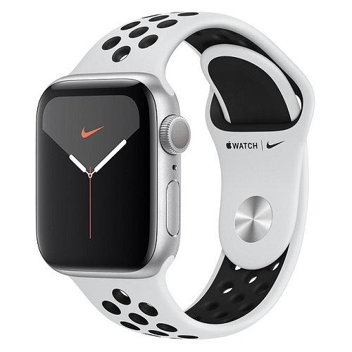 Apple Watch Series 5 Nike silver (спортивный ремешок Nike)