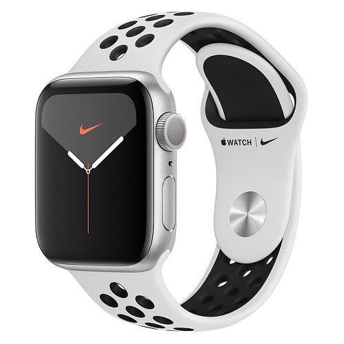 Apple Watch 5 Nike silver