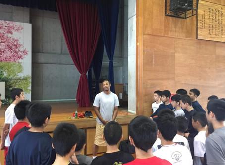 沖縄山内中学校クリニック