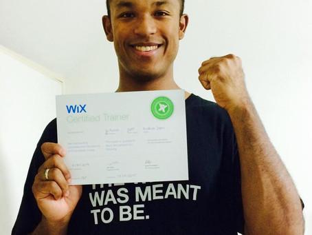 代表の栗野譲が世界初WCT(Wix認定講師)資格を取得