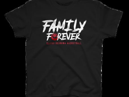 イチャリバチョーデー (FAMILY FOREVER)のTシャツを販売開始!