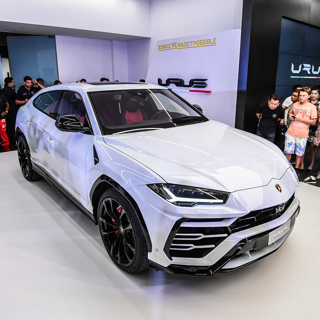 Parade of the Bulls & Lamborghini Urus Private Preview