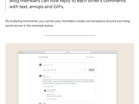 Wix Blogのコメント欄で絵文字を使えるように!