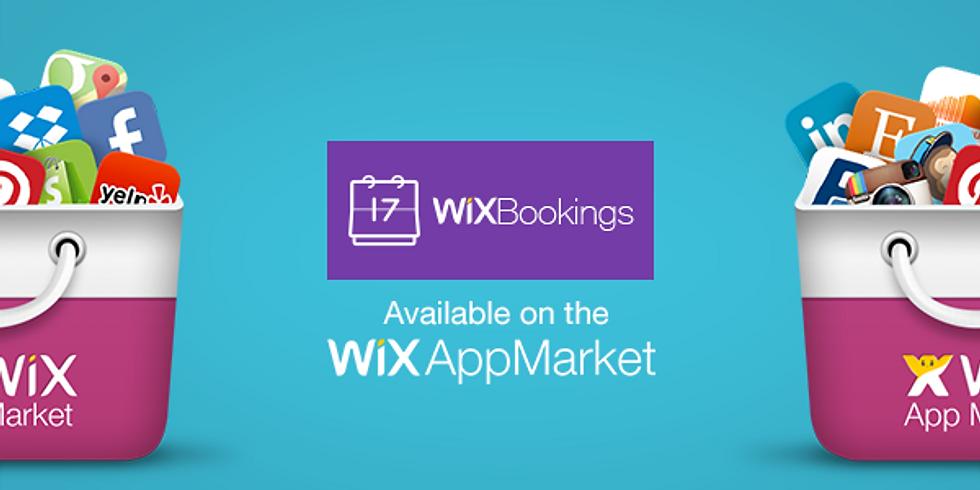 Wixワークショップ:予約を取れるサイトを作成!