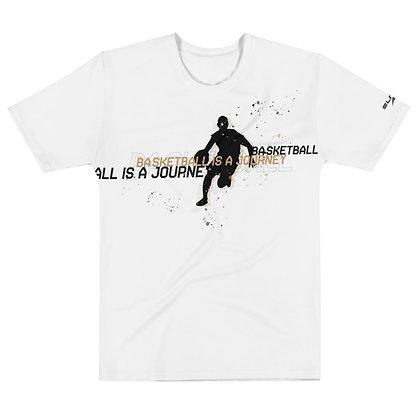 Elitus Basketball is a Journey Dry +Flex T-shirt