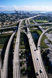 Freeway interchange