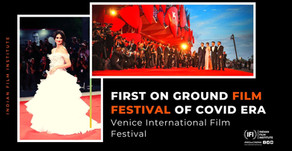 Venice Film Festival- First on-ground film festival of COVID era
