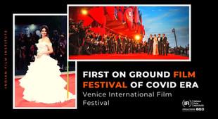 Venice Film Festival- First on-ground film festival of COVID era