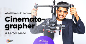 Cinematographer - Career Guide
