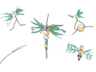 Make your own damsel & dragonfly with The Out Pack