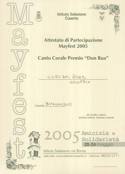 Caserta MAYFEST 2005